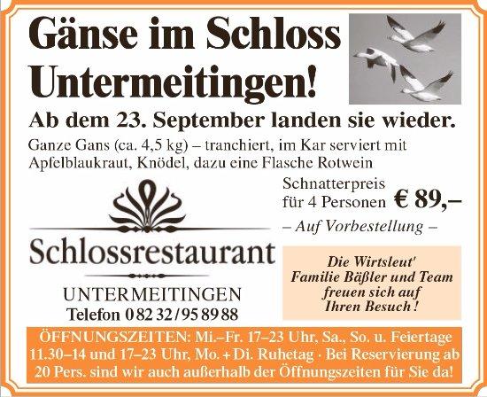 Untermeitingen, Alemania: Alle Jahre wieder........