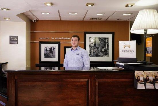 Manheim, Pennsylvanie : Front Desk