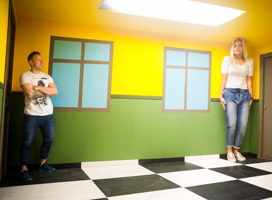 Ames Room - Picture of Illusion Rooms, Druskininkai - TripAdvisor