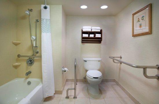Hampton Inn Fairfax City: ADA Bathroom