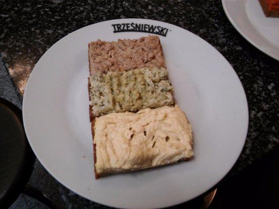 trzesniewski kanapeczki trzea niewski