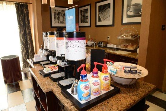 Americus, جورجيا: Breakfast Area