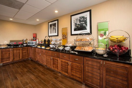 Morehead City, Carolina del Norte: Breakfast Serving Area