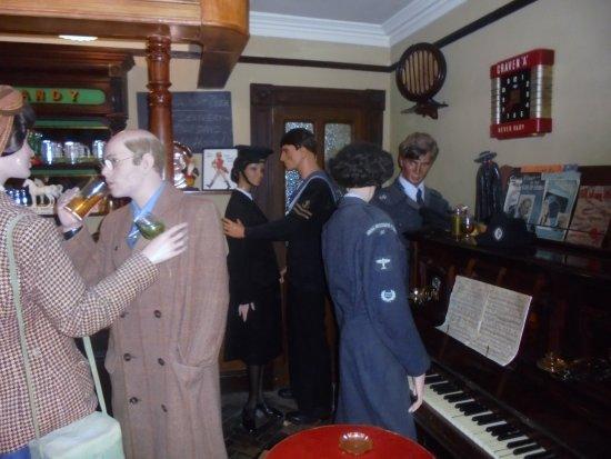Helston, UK: Blitz Inside pub