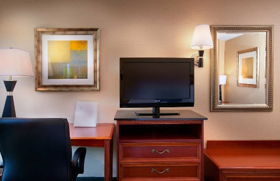 Hampton Inn Alexandria/Pentagon South: Guest Room Furnishings