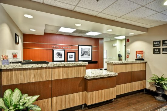Gastonia, Carolina del Nord: Front Desk
