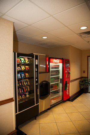 Brownwood, TX: Vending Area