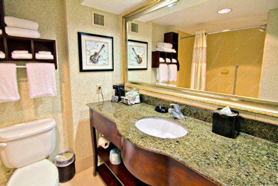 Hampton Inn & Suites Memphis - Beale Street: Bathroom