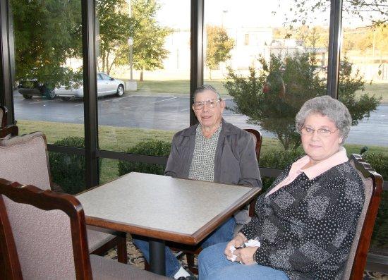Muskogee, Οκλαχόμα: Breakfast Dining Area