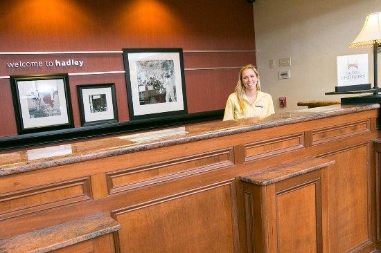 Hadley, MA: Front Desk