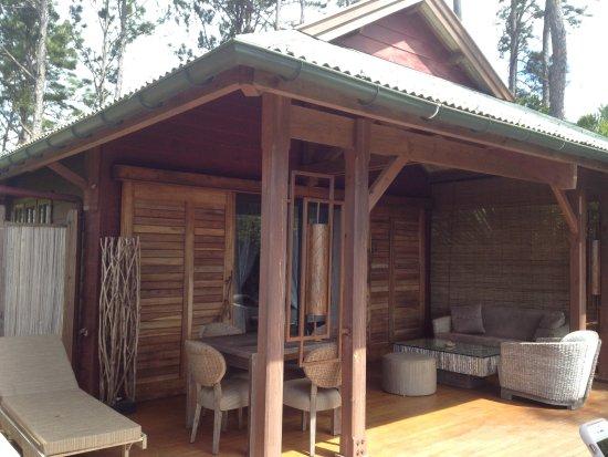 Lakaz Chamarel Exclusive Lodge: Terrasse