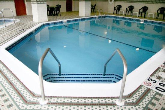 Hampton Inn Boston Braintree : Indoor Pool