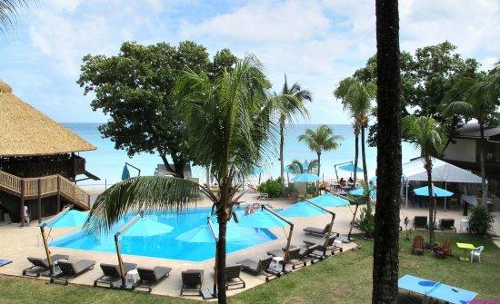 Coral Strand Smart Choice Hotel Seychelles: Вид из номера 317