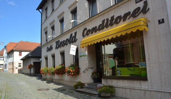 Burgkunstadt, Alemania: Hier sehen sie die Fasade unseres Hauses