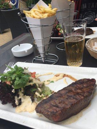 Evere, België: Good beef steak