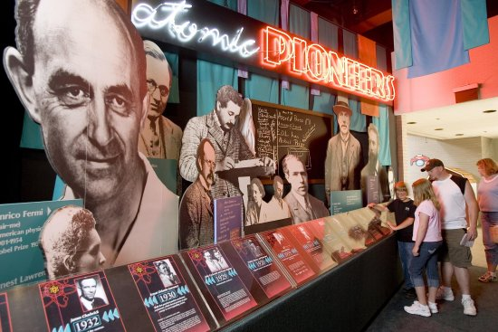 Oak Ridge, Теннесси: Atomic Pioneer Exhibit
