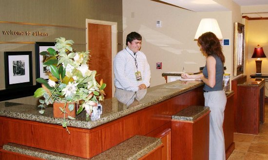 Athens, OH: Reception Desk