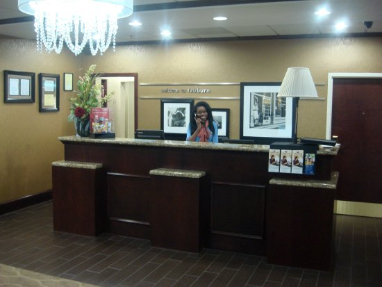 Fairburn, Géorgie : Front Desk