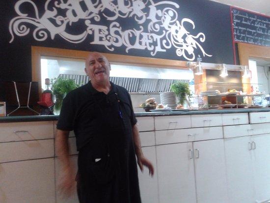 Sant Joan Despi, Spanien: Paco (propietario)