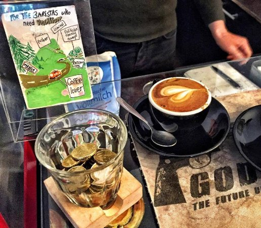 Godshot: tips for the baristas who want to go on vacation:) they deserve it:)