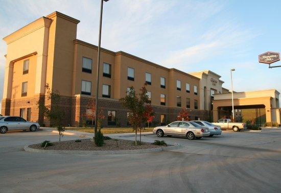 Hampton Inn Clinton: Our Hotel