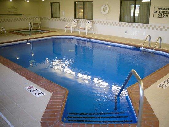 Indoor Pool Picture Of Hampton Inn Lexington South Keeneland Airport Lexington Tripadvisor