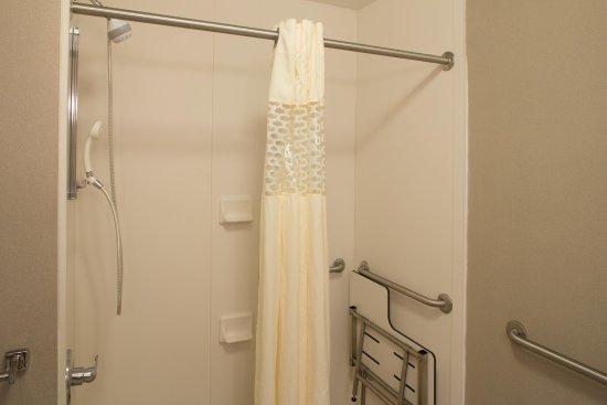 Hampton Inn Bloomsburg: Accessible Bathroom