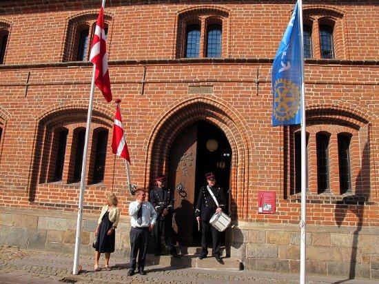 Det Gamle Raadhus: 旧市庁舎入口