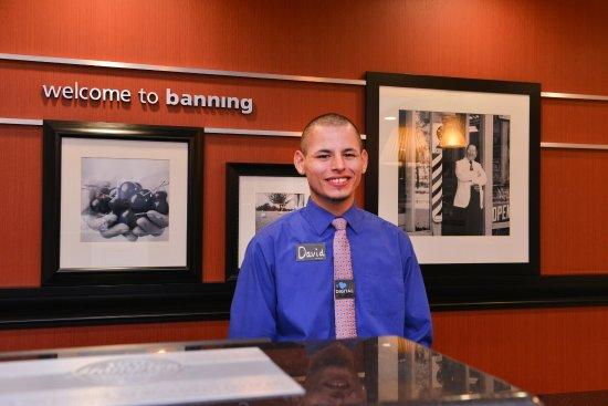 Banning, CA: Front Desk Staff