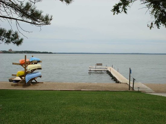 Bemidji, MN: Hampton Inn Dock