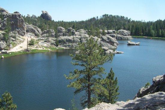 Sylvan Lake near Sylvan Lake Campground Picture of Custer State