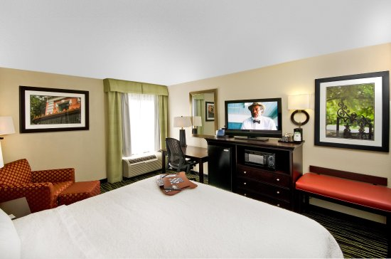 Hampton Inn Columbia-I-26 Harbison Boulevard: Kig Bedroom