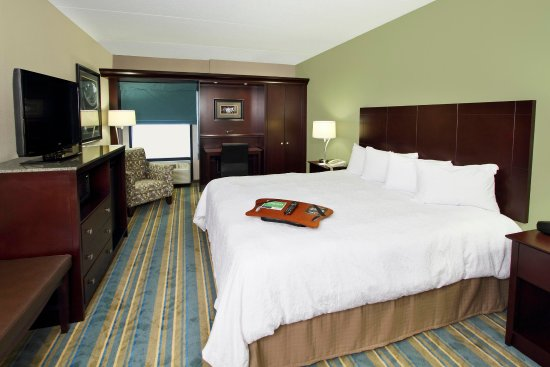 Hampton Inn Hagerstown: Guest Room with One King Bed