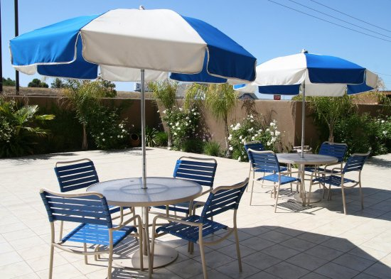 Lathrop, Californië: Outdoor Patio Area