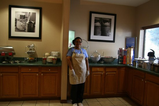There is always a smiling face, a helping hand, and great food at the Hampton Inn Madison, GA.