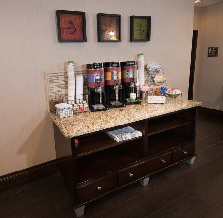 Carlstadt, NJ: Coffee Area