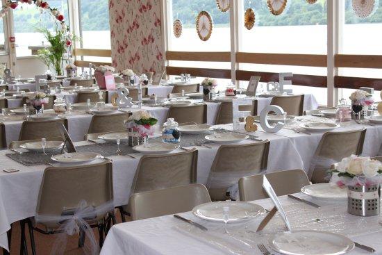 Gwynedd, UK: A recent wedding event at Jetty Cafe.