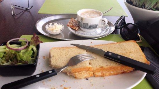 Terneuzen, Holandia: Heerlijke sandwich