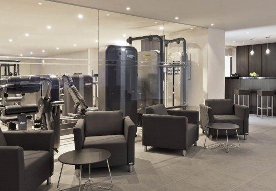 Vienna Marriott Hotel: Fitness Center - Seating Area