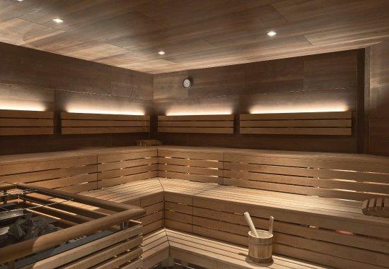 Vienna Marriott Hotel: Sauna