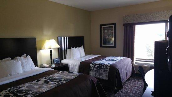 Sleep Inn & Suites: Nice size!