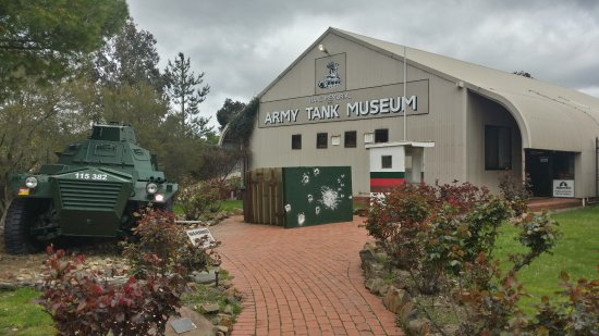 RAAC Memorial and Army Tank Museum