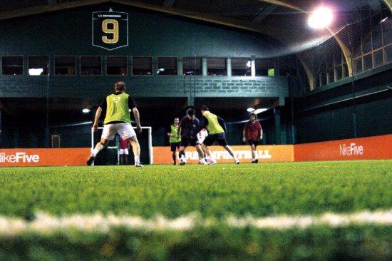 Meudon-la-Foret, Francia: Terrain indoor de foot à 5 à l'UrbanSoccer de Meudon