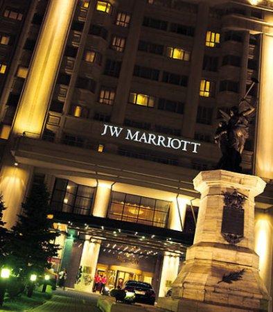 JW Marriott Bucharest Grand Hotel: Entrance