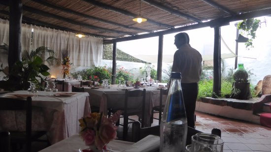 The Garden - Restaurant: la sala veranda