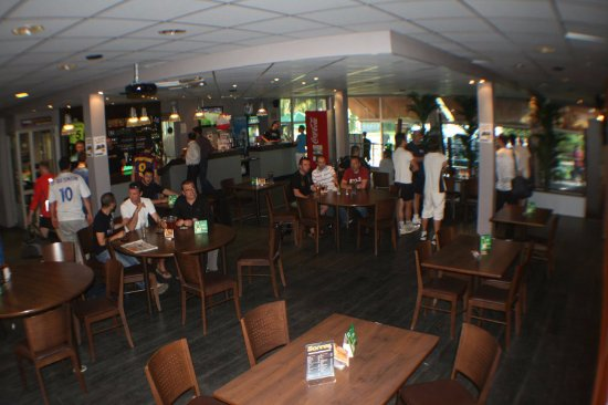 Meylan, Frankrijk: Espace Bar / restauration de l'UrbanSoccer de Grenoble