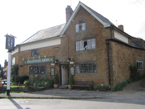 The Brasenose Arms: Welcoming sight
