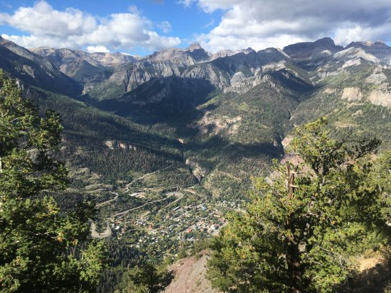 The trail map Picture of Chief Ouray Mine Trail Ouray TripAdvisor