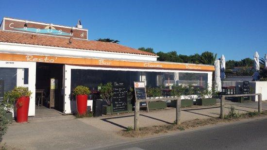 Le Bois-Plage-en-Re, France : Restaurant à découvrir car bonne cuisine et super accueil !