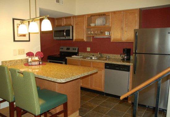 San Mateo, Kaliforniya: Deluxe Penthouse Suite Kitchen